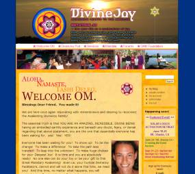 Website design for DivineJoy