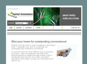 Swired Innovations website design